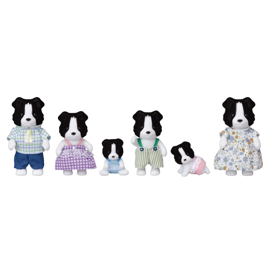 5510 Famiglia Border Collie EXCLUSIVE FAMILY - limited edition